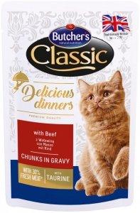 Butchers Saszetka 100g z wołowiną dla kota