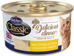 Butchers Delicious Dinners kurczak/indyk 85g