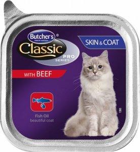Butchers  Pasztet wołowina 100g sierść skóra
