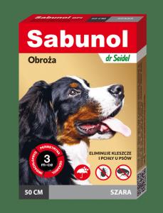 Sabunol  GPI Obroża szara 50cm