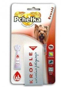 Pchełka Krople ochronna dla psów do 5 kg- 1ml