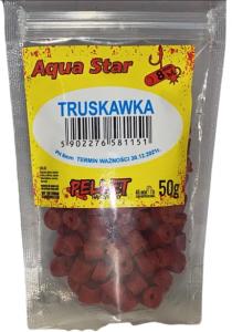Aqua Star  Pellet haczykowy 8mm 50g Truskawka