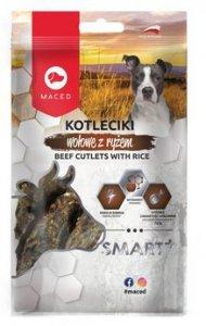 Maced Smart+ Kotleciki wołowe z ryżem 100g