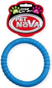 Pet Nova Ringo 9,5cm niebieskie aromat mięta