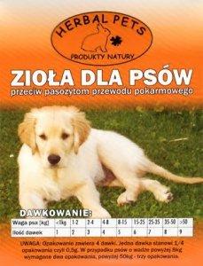 Herbal Pets - zioła przeciw pasożytom dla psa 2g