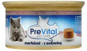 PreVital MUS dla kota 85g Wołowina
