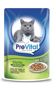 PreVital saszetka dla kota 100g Sterile drób
