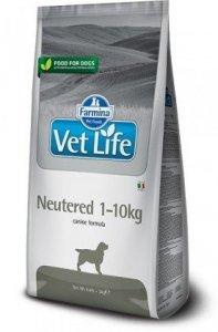 Vet Life Dog 2kg Neutered 1-10kg