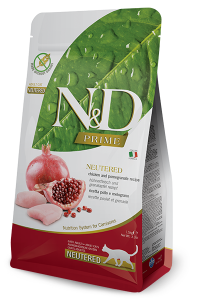 ND Cat NG Adult 300g Neutered Chicken&Pomegranate