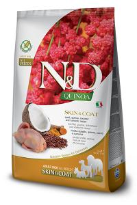 ND Dog NG Adult Quinoa 800g Skin&Coat Quail