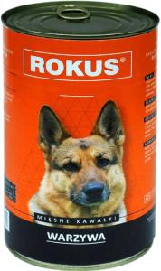 Rokus Dog Warzywa 410g