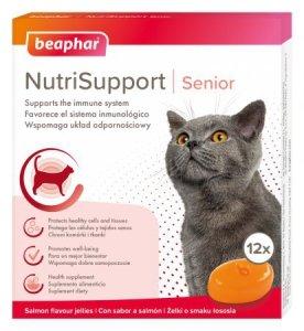 Beaphar NutriSupport Cat Senior 12szt żelki