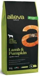 Alleva Natural Dog Adult M/M Lamb 12kg