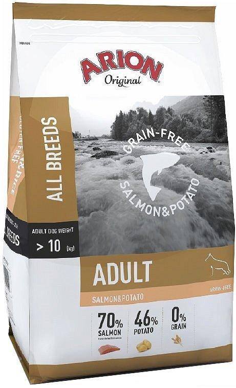 Arion Grain Free Salmon Potato 12kg