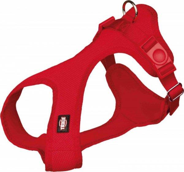 Trixie Uprząż miękka XXS-XS 25-35cm/15mm red