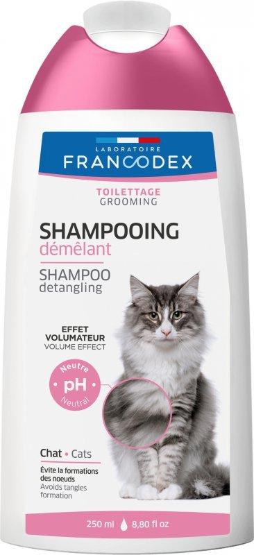 Francodex Szampon 2 w 1 dla kotów 250ml