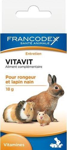 Francodex Vitavit witaminy dla gryzoni 18g