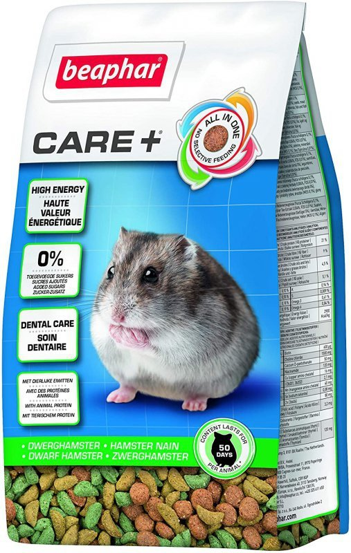Beaphar Care+ Hamster 250g - dżungalski