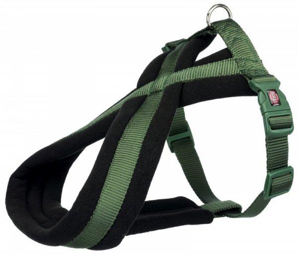 Trixie Uprząż Premium 50-80cm/25mm zielony