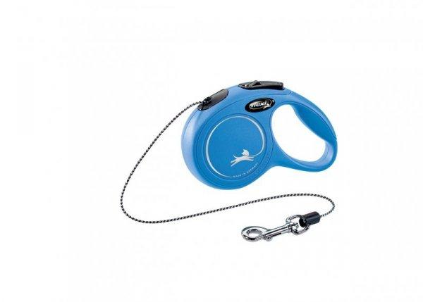 Flexi Classic XS Cord 3m 8kg niebieska