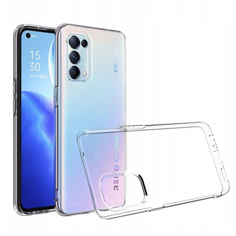 Futerał Back Case Ultra Slim 0,5mm do OPPO Reno 5 PRO+