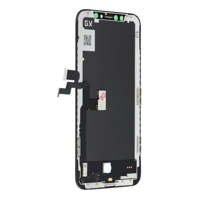 Wyświetlacz do iPhone X  z ekranem dotykowym czarnym HQ hard OLED GX-X!!
