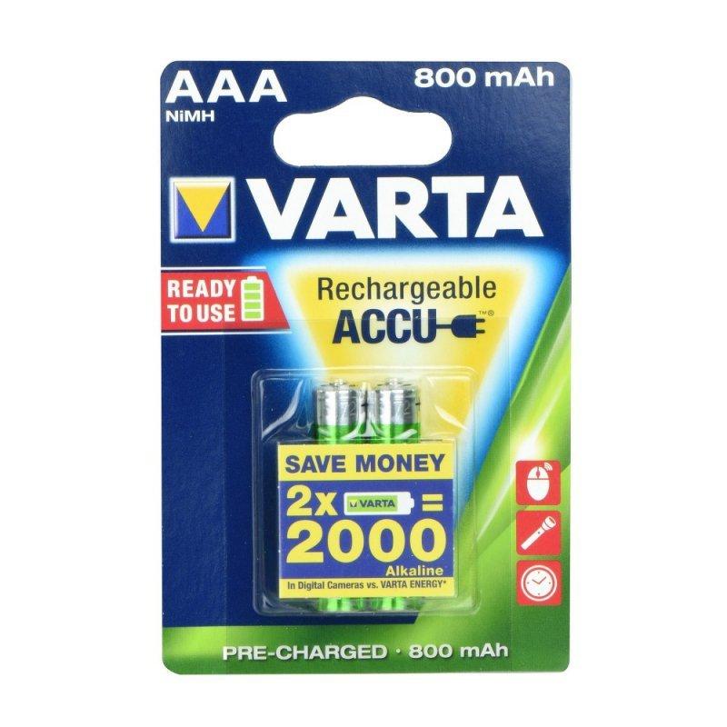 Bateria akumulatorowa VARTA R3 800 mAh (AAA) 2 szt.