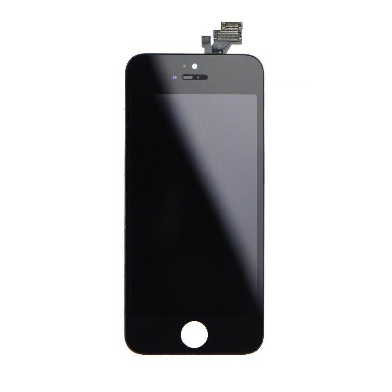 Wyświetlacz do iPhone 5 z ekranem dotykowym czarnym HQ