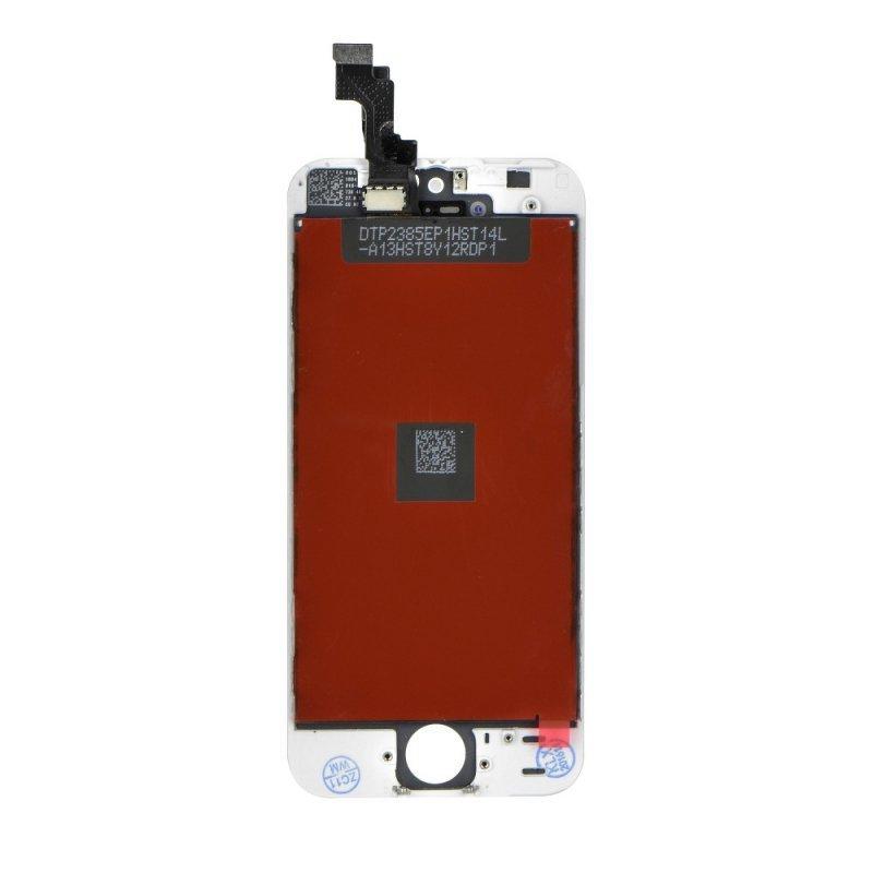 Wyświetlacz do iPhone 5S z ekranem dotykowym białym HQ