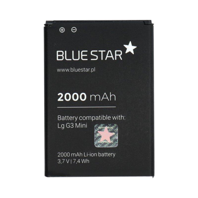 Bateria do LG G3 mini(G3 S/G3 Beat)G4c/Bello/L80/L90 2000 mAh Li-Ion Blue Star PREMIUM