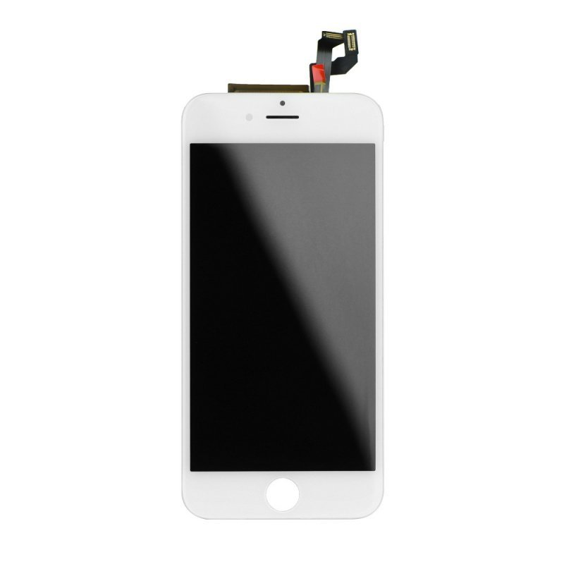 """Wyświetlacz do iPhone 6S 4,7""""  z ekranem dotykowym białym HQ"""