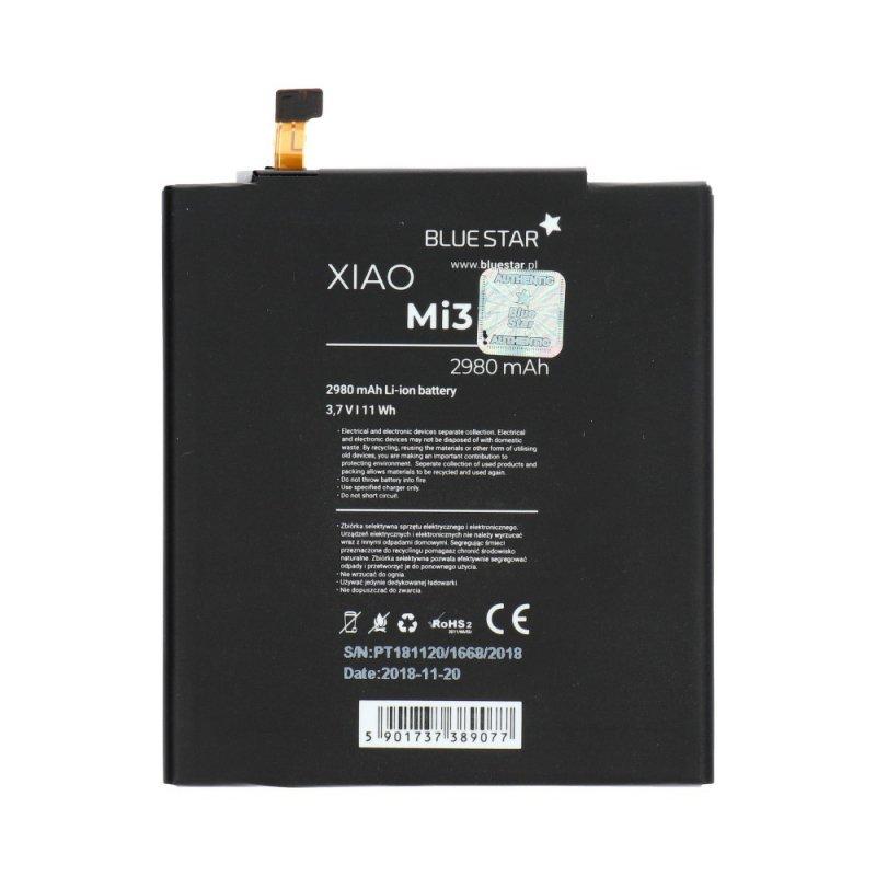 Bateria do Xiaomi Mi3 (BM31) 2980 mAh Li-Ion Blue Star