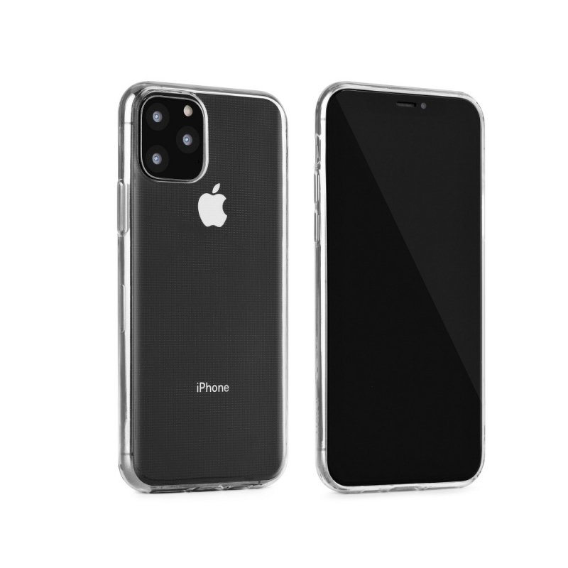 Futerał Back Case Ultra Slim 0,3mm do SAMSUNG Galaxy S8 Plus czarny