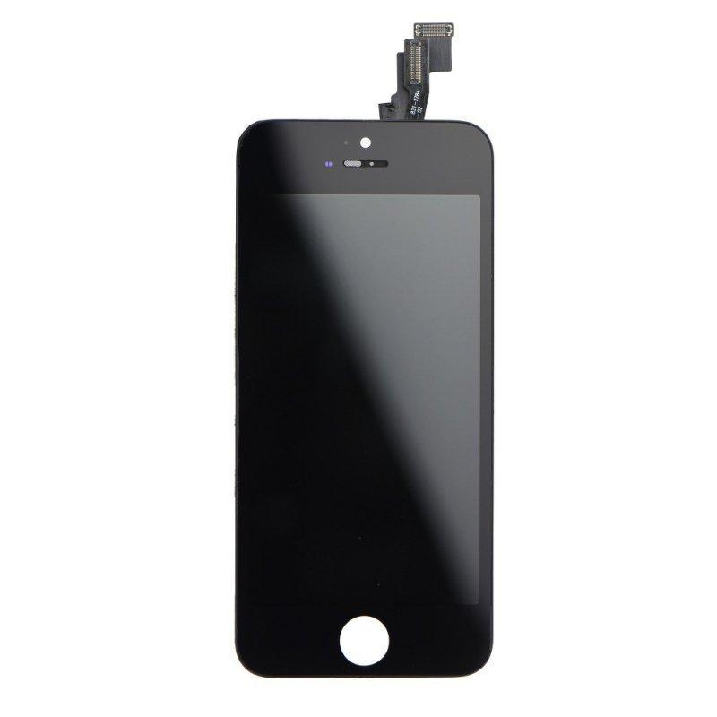 Wyświetlacz do iPhone 5C z ekranem dotykowym czarnym (Tianma AAA)