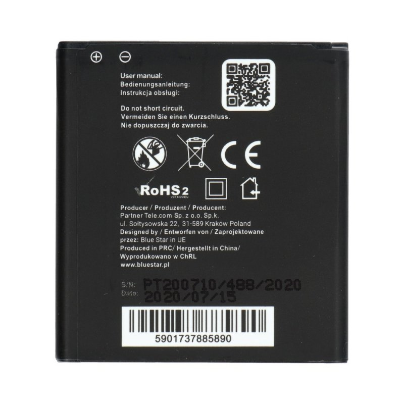 Bateria do Samsung G3608 Galaxy Core Prime G3606 G3609 1700 mAh Li-Ion Blue Star PREMIUM