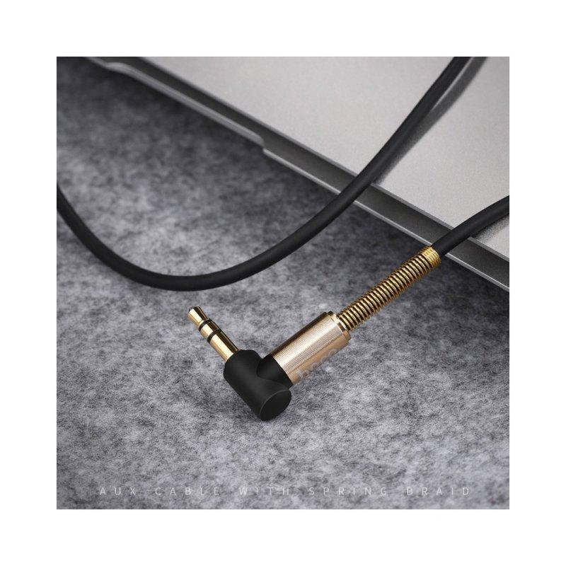 HOCO kabel audio AUX Jack 3,5mm czarny UPA02 czarny