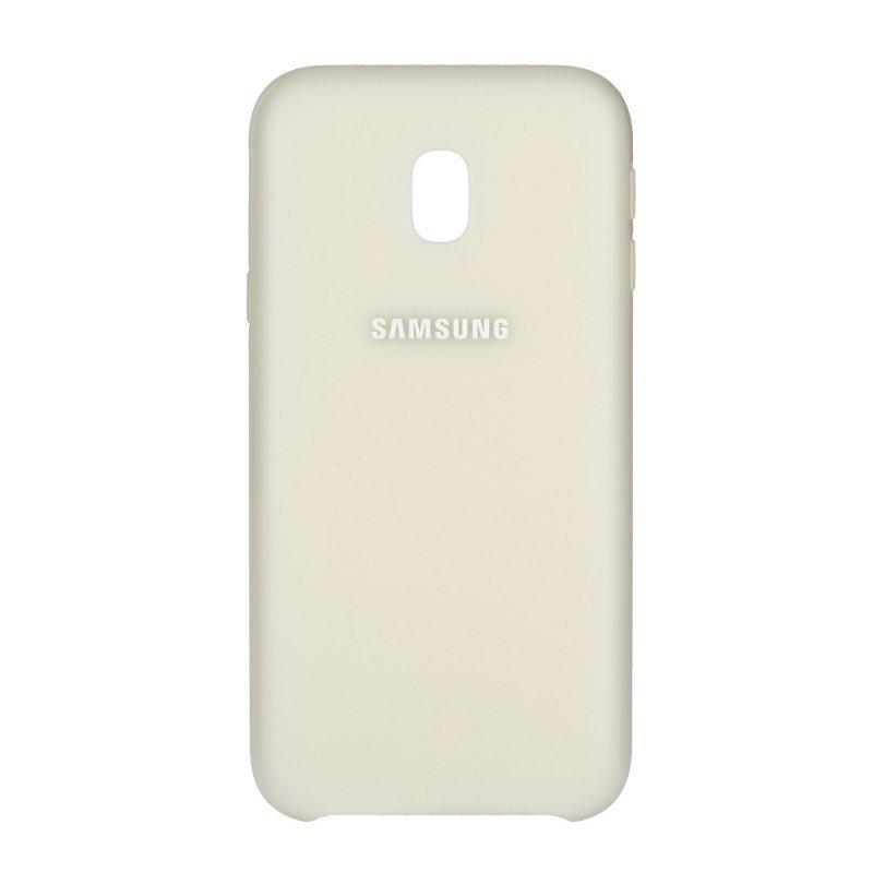 Oryginalny Futerał Dual Layer Cover EF-PJ330CWE Galaxy J3 2017 biały blister