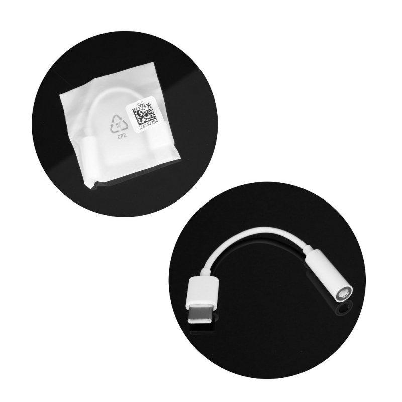 Oryginalny Adapter Huawei CM20 USB typ C biały bulk