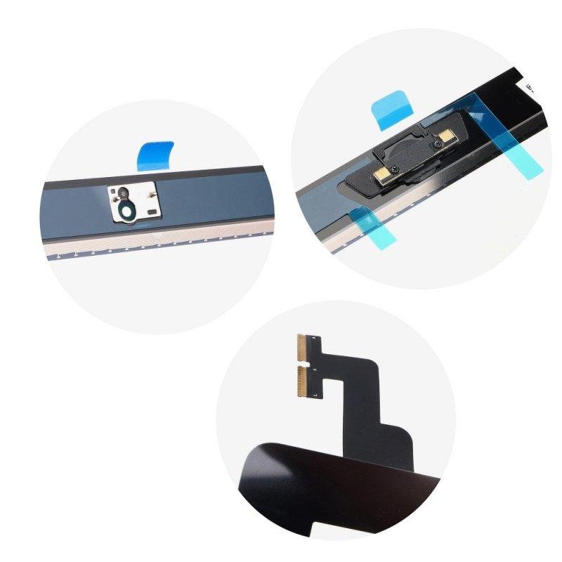 Ekran dotykowy z przyciskiem home EQ Ipad 2 czarny ( A1395, A1396, A1397 )