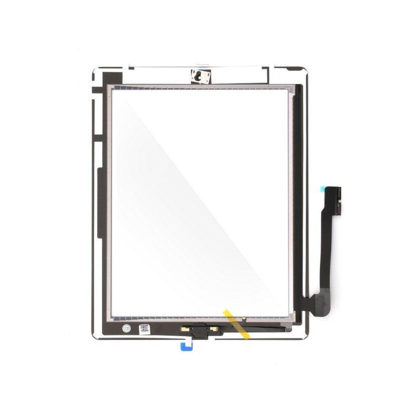 Ekran dotykowy z przyciskiem home EQ Ipad 4 czarny ( A1458, A1459, A1460 )