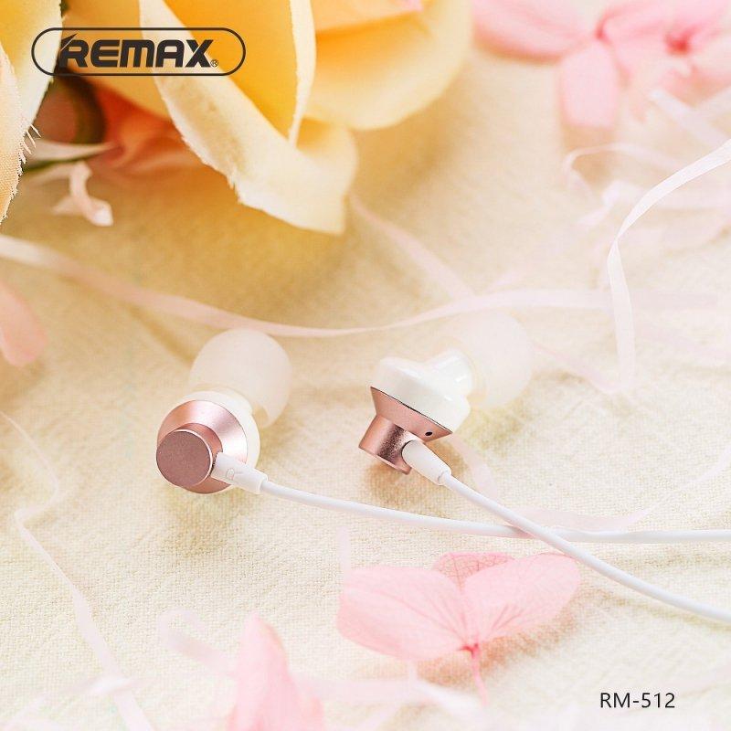REMAX zestaw słuchawkowy / słuchawki RM-512 czarny