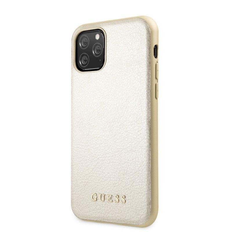Oryginalne Etui GUESS Hardcase GUHCN58IGLGO do iPhone 11 Pro złoty