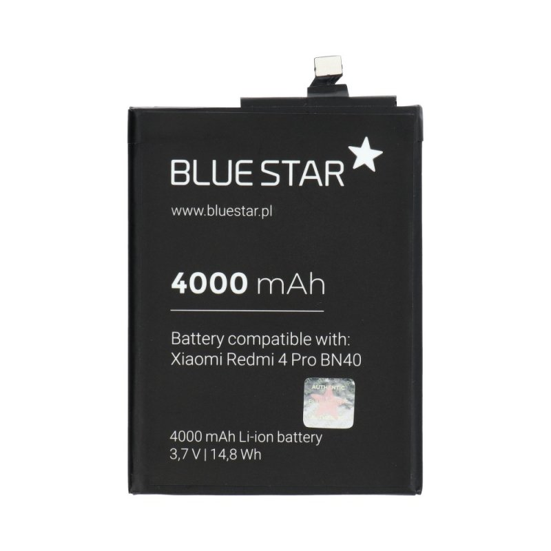 Bateria do Xiaomi Redmi 4 Pro Prime (BN40) 4000 mAh Li-Ion Blue Star