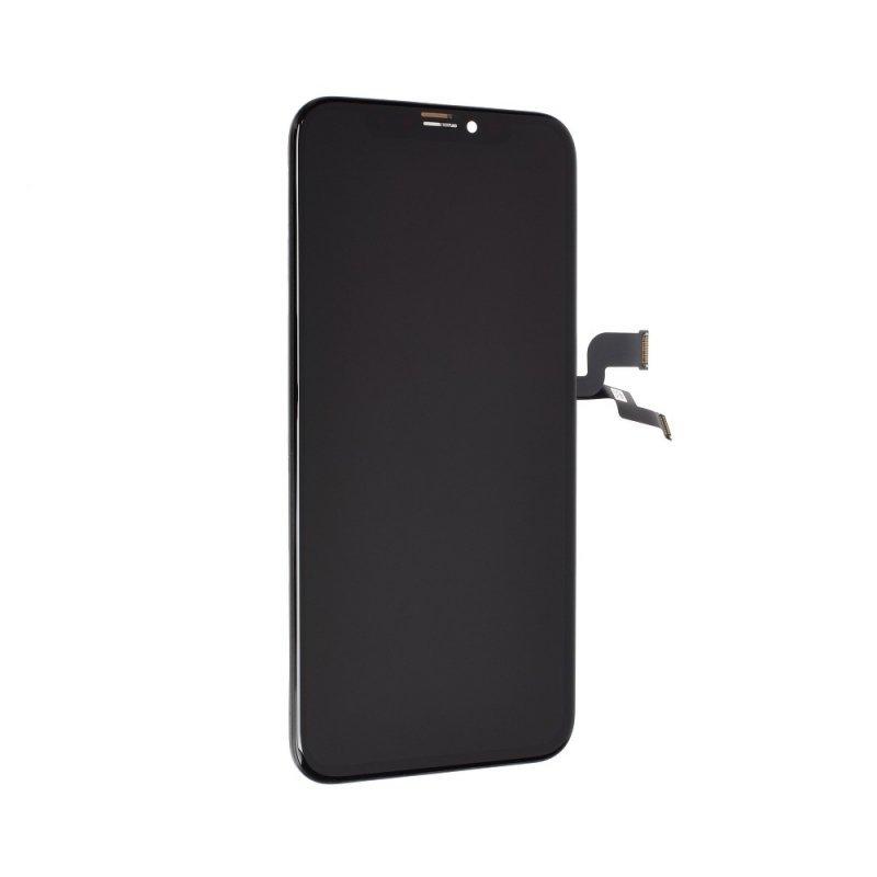 Wyświetlacz do iPhone X  z ekranem dotykowym czarnym (HiPix Incell)