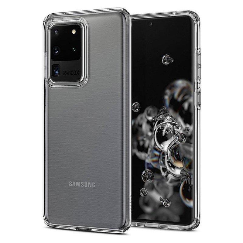 Futerał Back Case Ultra Slim 0,3mm do SAMSUNG Galaxy S20 Ultra / S11 Plus transparent