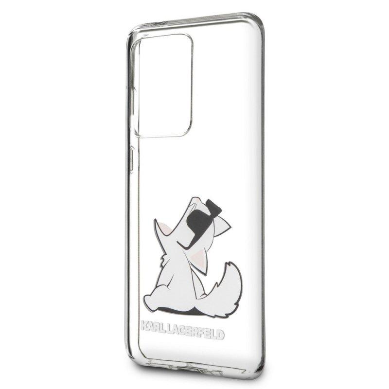 Oryginalne Etui KARL LAGERFELD Hardcase KLHCS69CFNRC do Samsung S20 Ultra transparent
