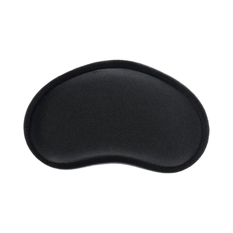 Podkładka ergonomiczna pod nadgarstek 130x78x25mm / czarny