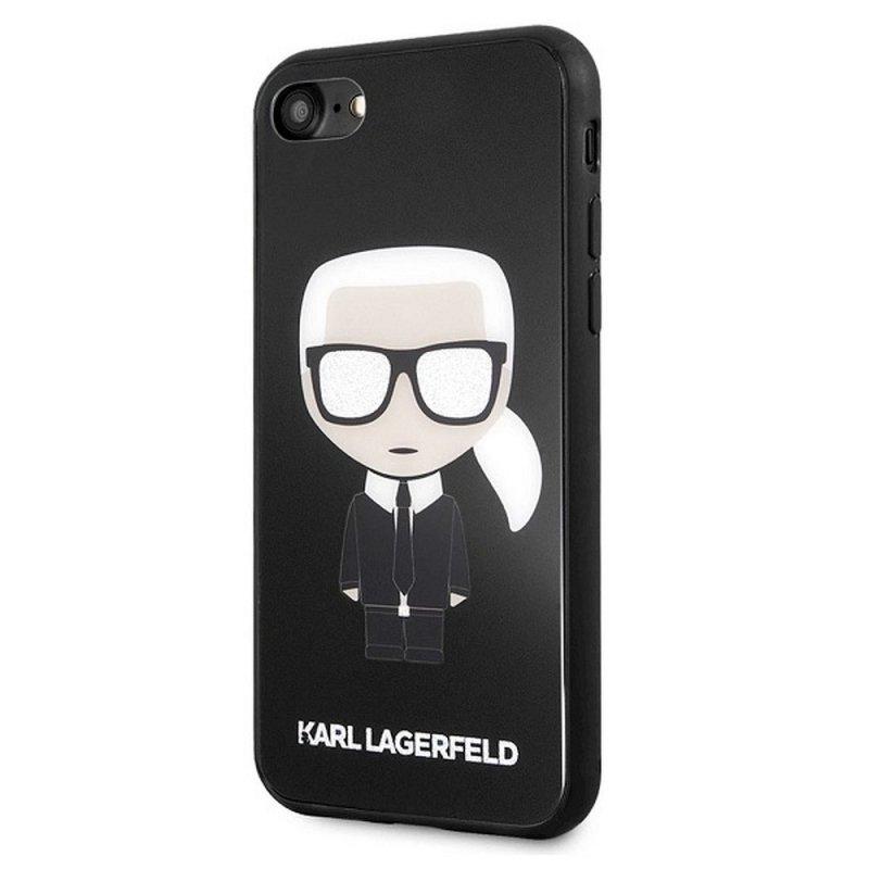 Oryginalne Etui KARL LAGERFELD Hardcase KLHCI8DLFKBK do iPhone 7/8 czarny