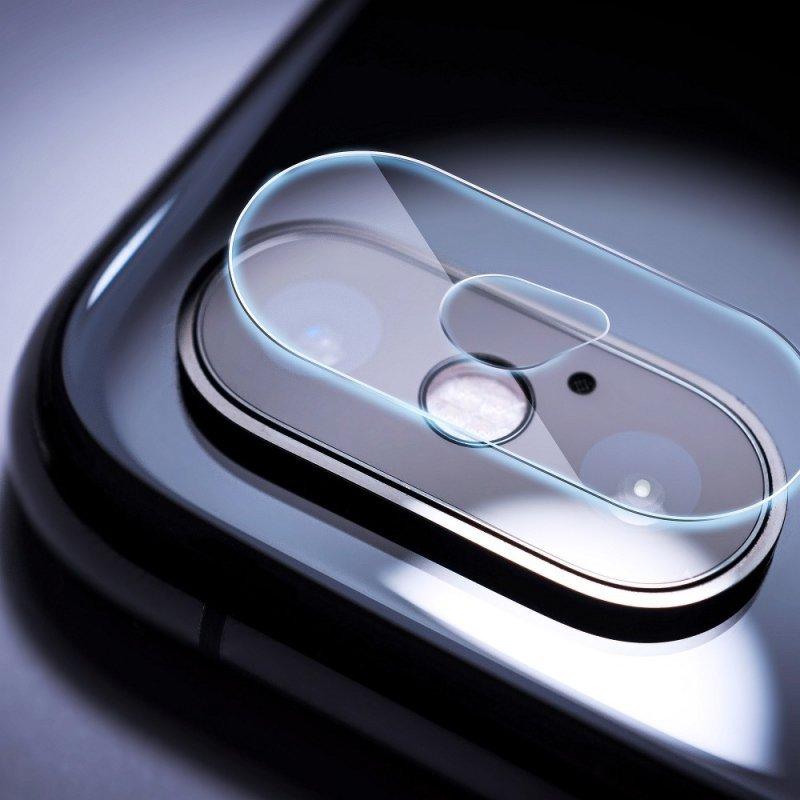 Szkło hartowane Tempered Glass Camera Cover - do iPhone Xs