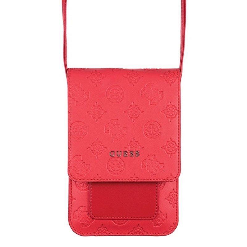 Torebka uniwersalna na telefon / portfel GUESS GUWBPELRE czerwona